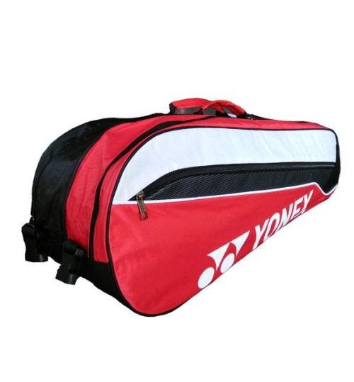 YONEX SUNR WP13TK BT6S Badminton Kit Bag Black and Red