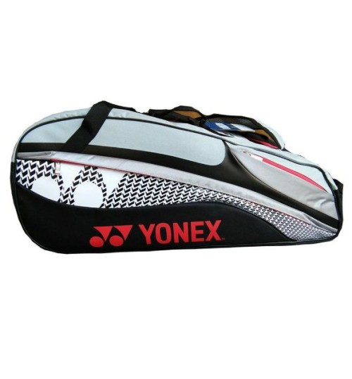 YONEX SUNR M101TK BT6S Badminton Black and Grey Kit Bag