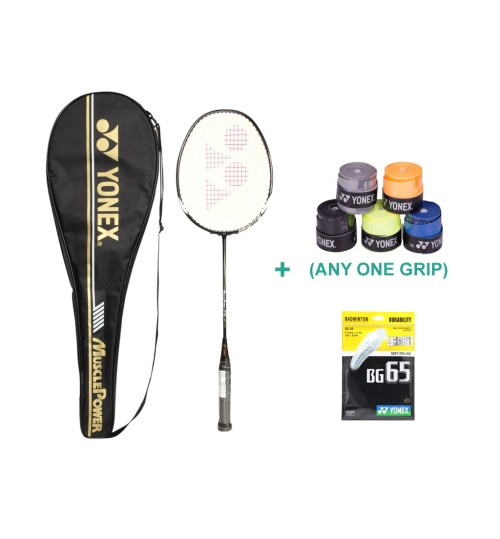 Yonex Muscle Power 29 Badminton Racket With Grip and String