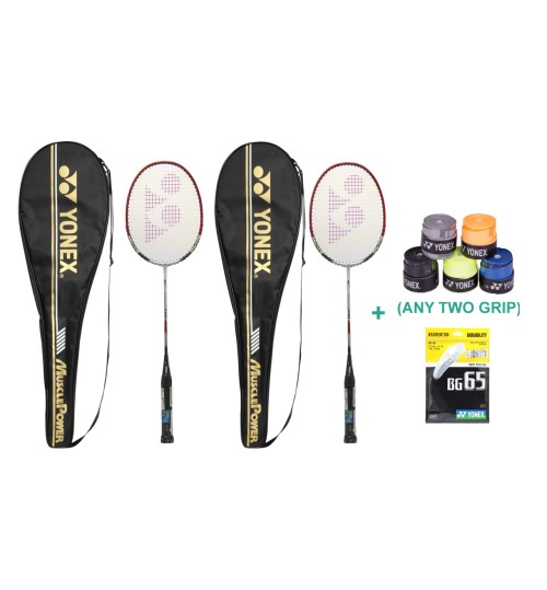Yonex Muscle Power 600 Complete Set With Grip and String