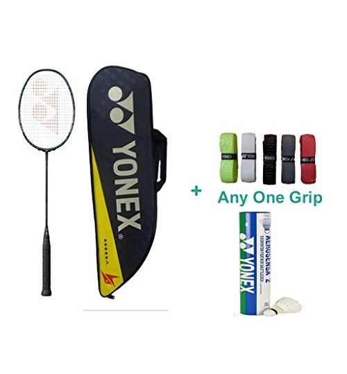 Yonex Voltric Z Force 2 With Yonex Badminton Overgrip