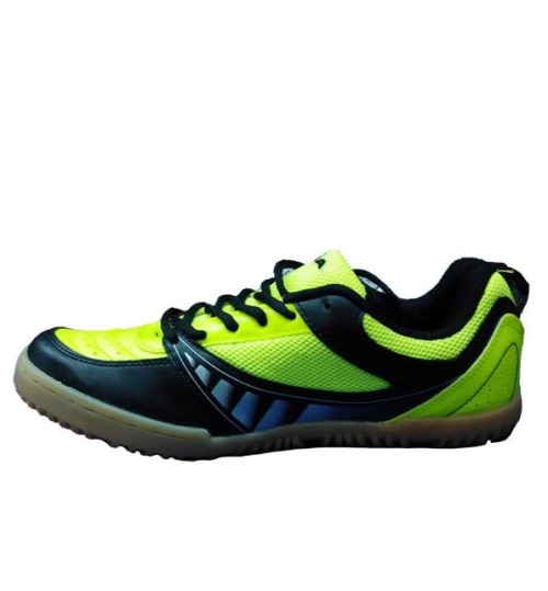 NIVIA Glider Lime and Black Tennis Shoes