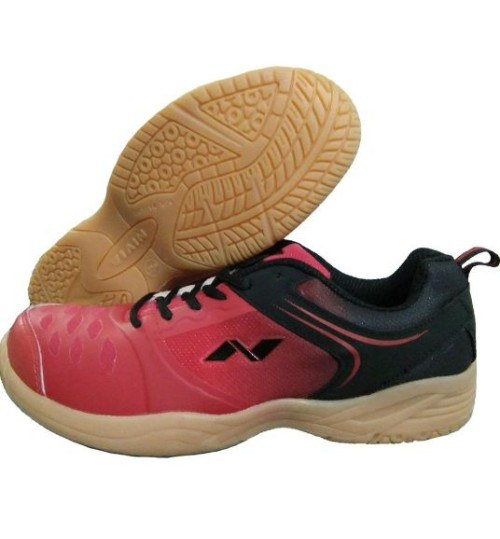 NIVIA New HY Court Red and Black Badminton Shoes