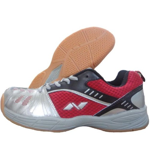 Nivia Appeal Court Red and Black Badminton Shoe