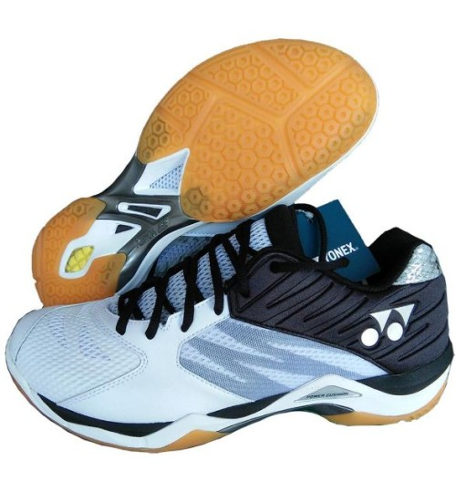 Yonex Power Cushion SHB 03 Z EX  White and Black Badminton Shoes