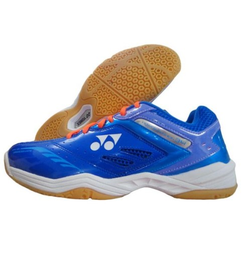Yonex Power Cushion SHB 34EX Blue and Purple Badminton Shoes