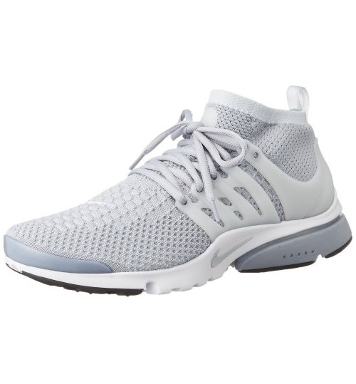 Nike Air Presto Flyknit Grey White Sport Shoes