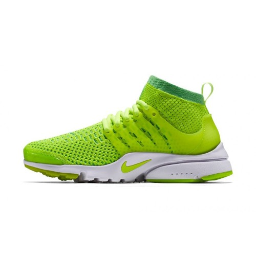 Nike Air Presto Flyknit Ultra Green White Sport Shoes