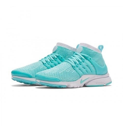 Nike Air Presto Flyknit sky blue White Sport Shoes