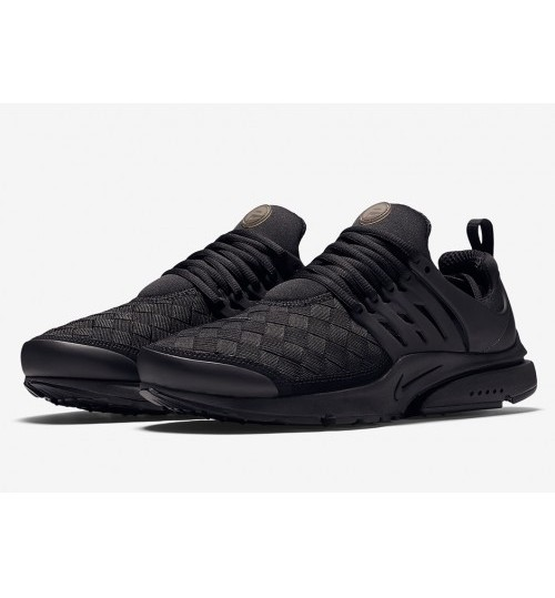 Nike Air Presto Woven Black For Men's