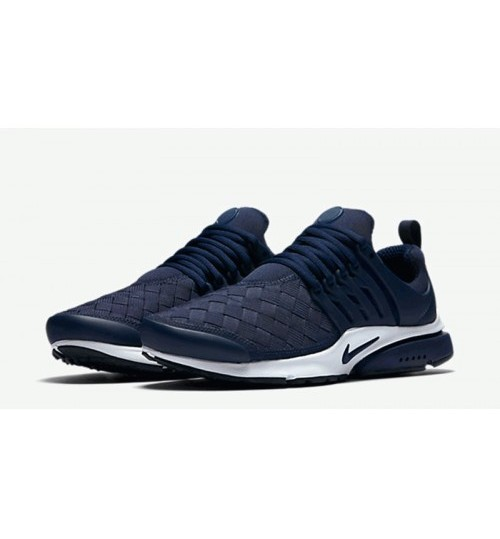 Sale Nike Air Presto Woven Navy Blue For Men