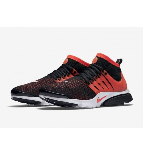 Nike Air Presto black orange Sport Shoes