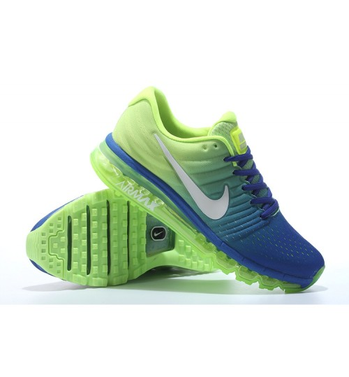 Nike Airmax 2017 Royal BlueWhite Running Shoes