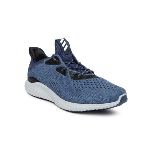 Adidas Blue Alphabounce Running Shoes