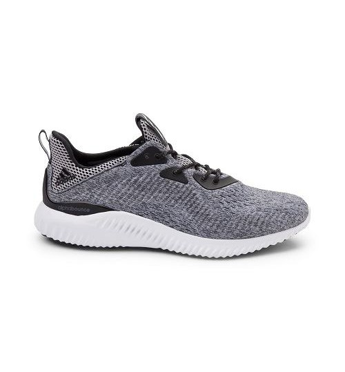 Adidas Grey Alphabounce Running Shoes