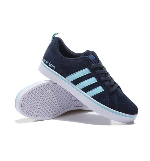 Adidas Neo Canvas Sneaker Blue