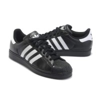 Adidas Superstar Sneaker Black White Shoes