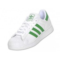 Adidas Superstar Sneaker Casual Green White Shoes
