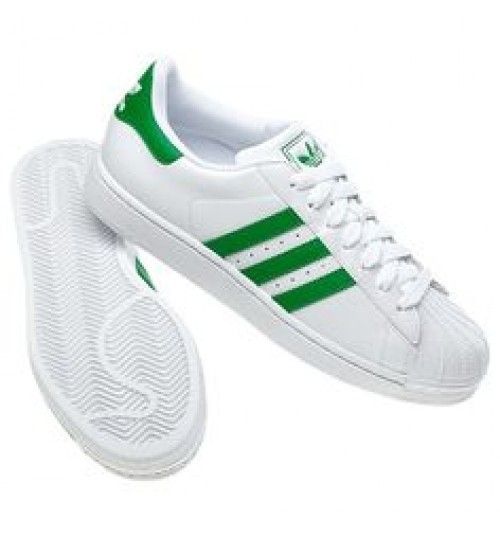 buy popular c3856 1394b Adidas Superstar Sneaker Casual Green White Shoes
