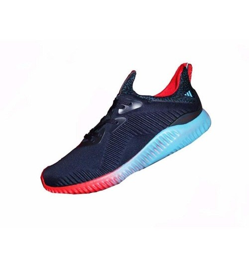 Adidas Alphabounce Navy Blue Red Sport Shoes