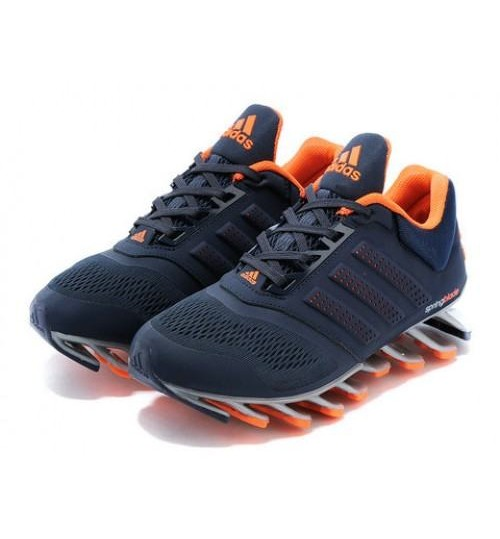 Adidas Spring Blade Blue Orange Shoes