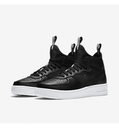 Nike Air force 1 Mid Black For Men's