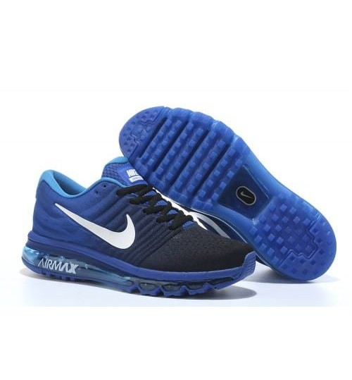 Nike Airmax 2017 Blue Running Shoes