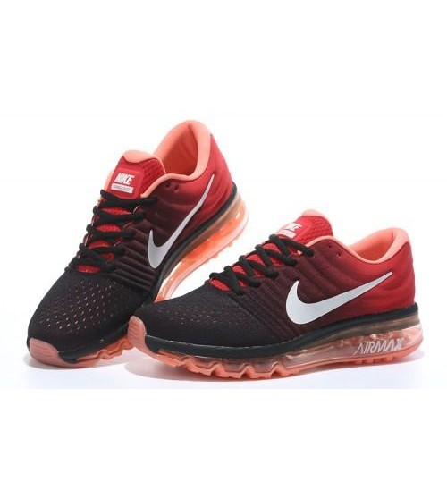 24549b61db Nike Air Max 2017 Black White Running Shoes   Shop Online at ...