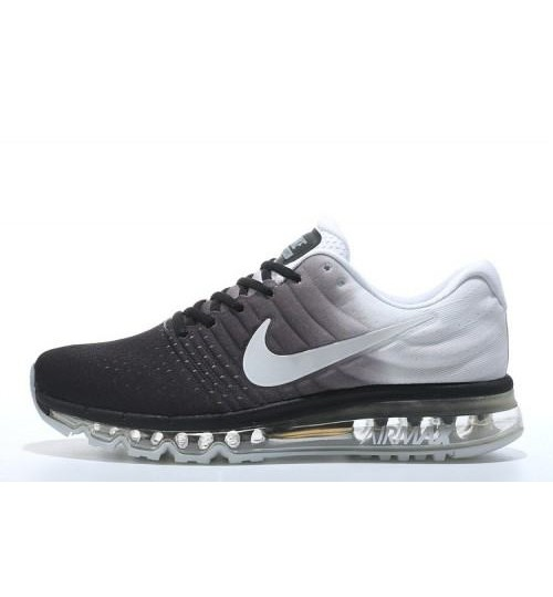 Nike Air Max 2017 Black White Running Shoes