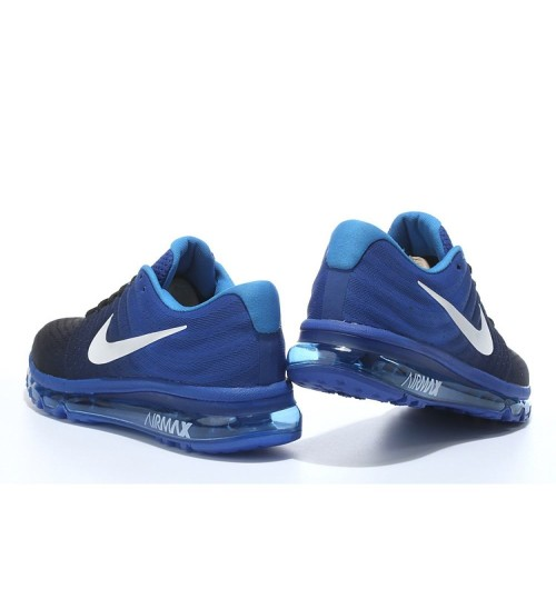the best attitude 1ec67 49436 Nike Airmax 2017 Blue Running Shoes