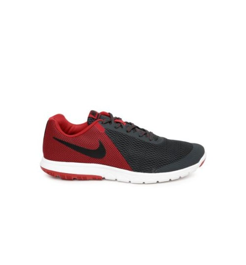 18742b40e9d48 Nike Flex Experience RN 5 Grey Red Running Shoes   Shop Online At ...