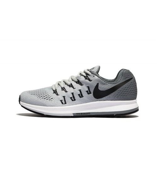 Nike Pegasus 33 White Grey Sports Shoes