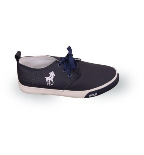 Polo Rock Casual Black Shoes