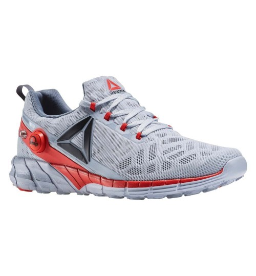 Reebok Grey Orange ZPUMP FUSION 2.5 Running Shoes