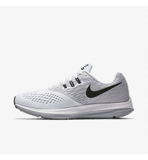 Nike Zoom Winflo 4 White Running Shoes