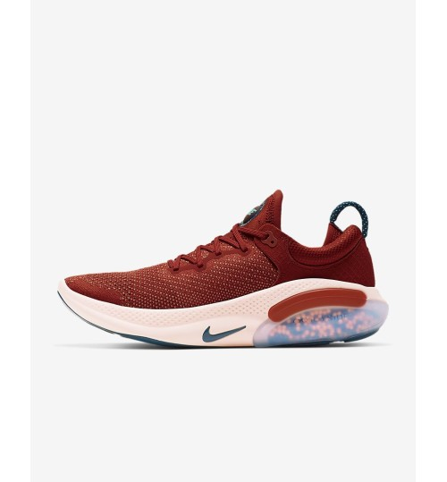 Nike Joyride Run Flyknit Men's Running Shoe Cinnabar/Crimson Tint/Aurora/Blue Force