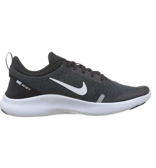 Nike Men's Flex Experience Run 8 Sneaker Black/White-cool Grey-reflective Silver