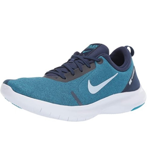 Nike Men's Flex Experience Run 8 Sneaker Midnight Navy/Half Blue - Blue Lagoon