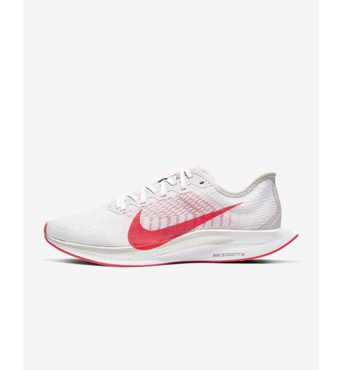 Nike Zoom Pegasus Turbo 2 Platinum Tint/White/Light Smoke Grey/Laser Crimson