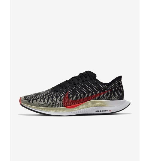 Nike Zoom Pegasus Turbo 2 Black/Olive Aura/White/Laser Crimson