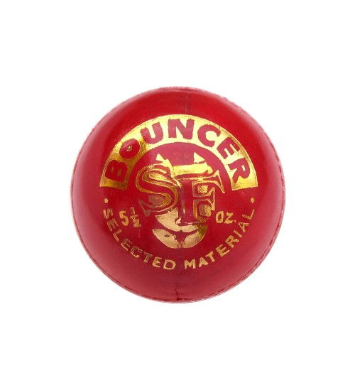 Stanford Bouncer Red Cricket Ball 3 Ball Set