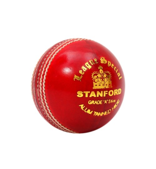 Stanford League Special Red Cricket Ball 6 Ball Set