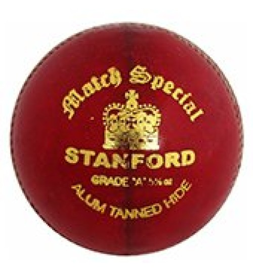 Stanford Match Special Red Cricket Ball 12 Ball Set