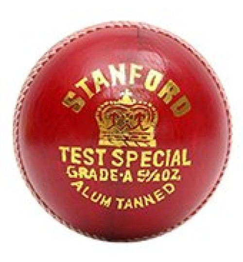 Stanford Test Special red Cricket Ball 12 Ball Set