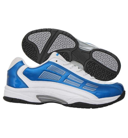 NIVIA Ray Blue and White Tennis Shoes