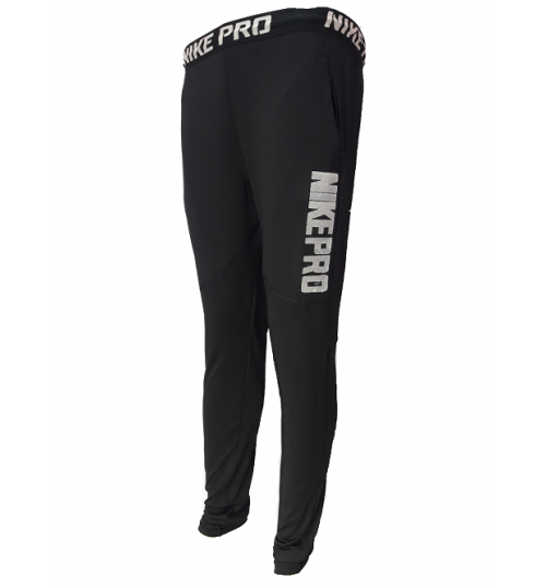 Nike Pro Black DRI-FIT Track Pants