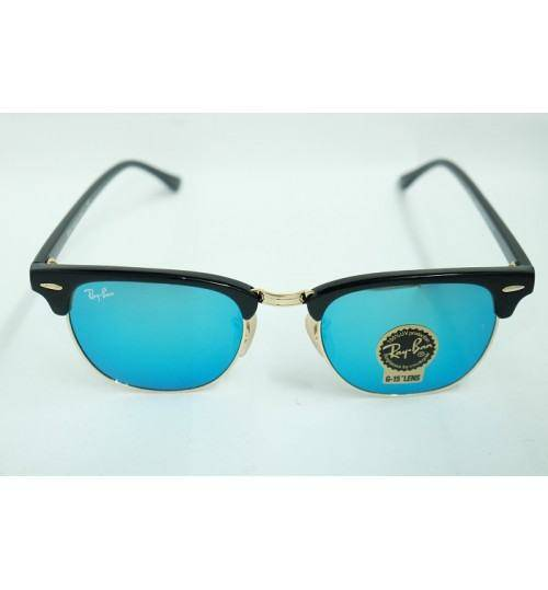 RayBan Clubmaster Flash Lenses - Blue, RB3016