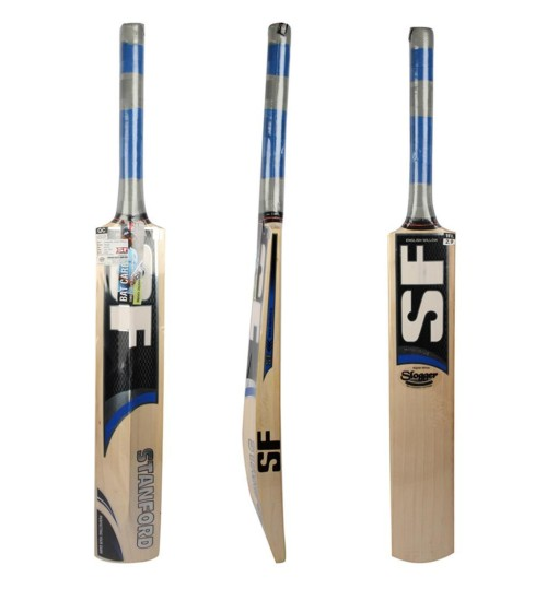SF Slogger English Willow Cricket Bat (6 No.)