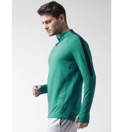 Nike Green Polyester T-shirt