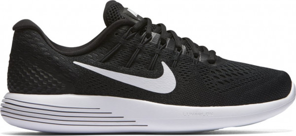 sneakers for cheap c859d 78a99 Nike Lunarglide 8 Black Running Shoe